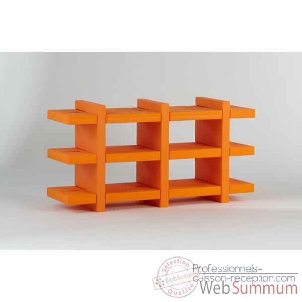 Bibliotheque etagere design booky medium SD BKY138
