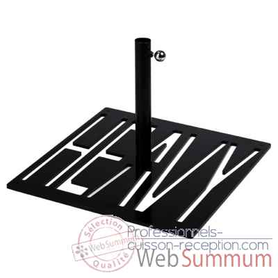 Pied de parasol sywawa socle heavy noir tube40 -72835012 Heavy-black-40