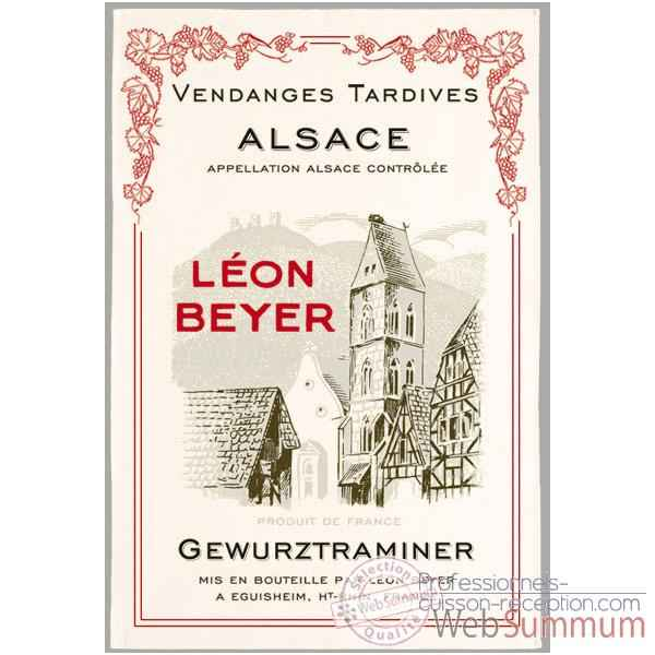 Video Torchon imprime Leon Beyer - Gewurztraminer -1003