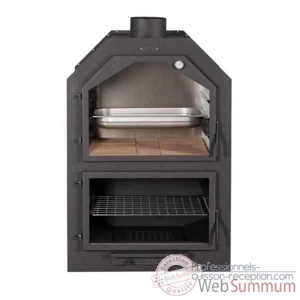 Poele necastrable avec grand four Xportia -FORNO-60-2